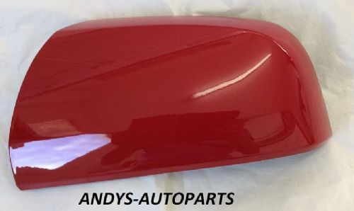 VAUXHALL ZAFIRA 59 ONWARDS (NEW) WING MIRROR COVER LH OR RH SIDE IN POWER RED